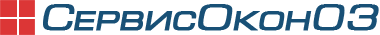 Логотип СервисОкон03